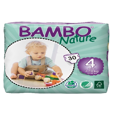 Panal Bambo Nature Maxi 4 Codigo 10134