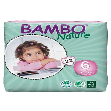 Panal Bambo Nature XL 6 Codigo 10136
