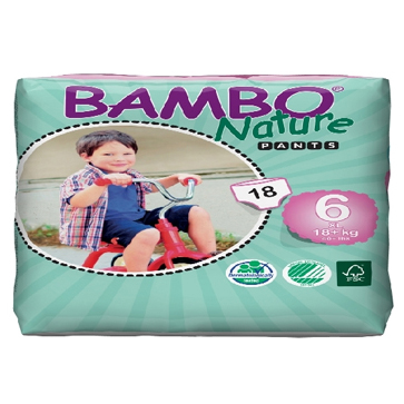 Panal Bambo Nature XL PANTS 6 Codigo 10139