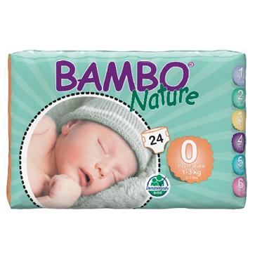 Panal Bambo Nature Bebés Prematuros Código 10130