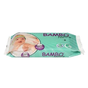 Toallitas Humedas para Bebe Bambo Nature Codigo 65972